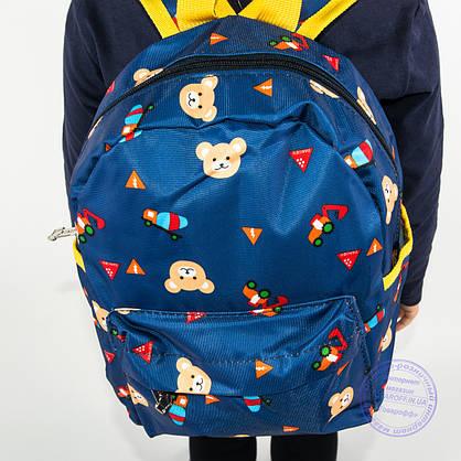 Детский рюкзак для мальчиков и девочек - синий - 132, фото 3