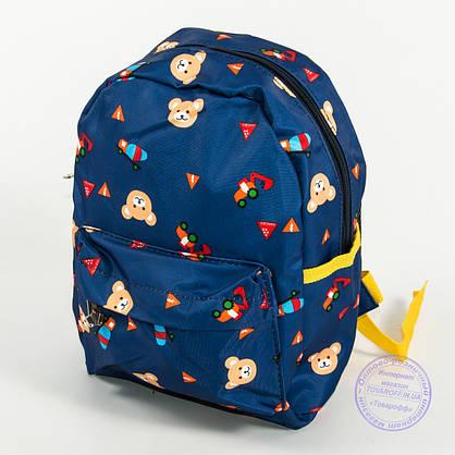 Детский рюкзак для мальчиков и девочек - синий - 132, фото 2