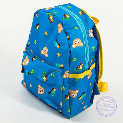 Детский рюкзак для мальчиков и девочек - голубой - 132, фото 2