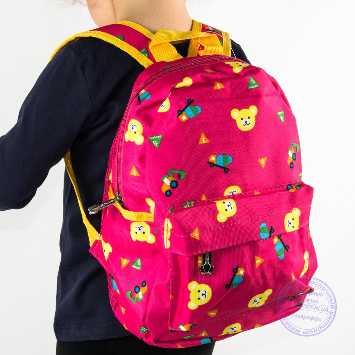 Детский рюкзак для девочек - розовый - 132