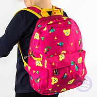 Детский рюкзак для девочек - розовый - 132, фото 1