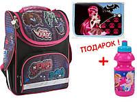 """Комплект. Рюкзак школьный каркасный Monster High MH14-501-2K, ТМ """"Kite"""" + Пенал"""