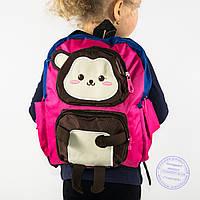 Детский рюкзак для девочек - розовый - 136