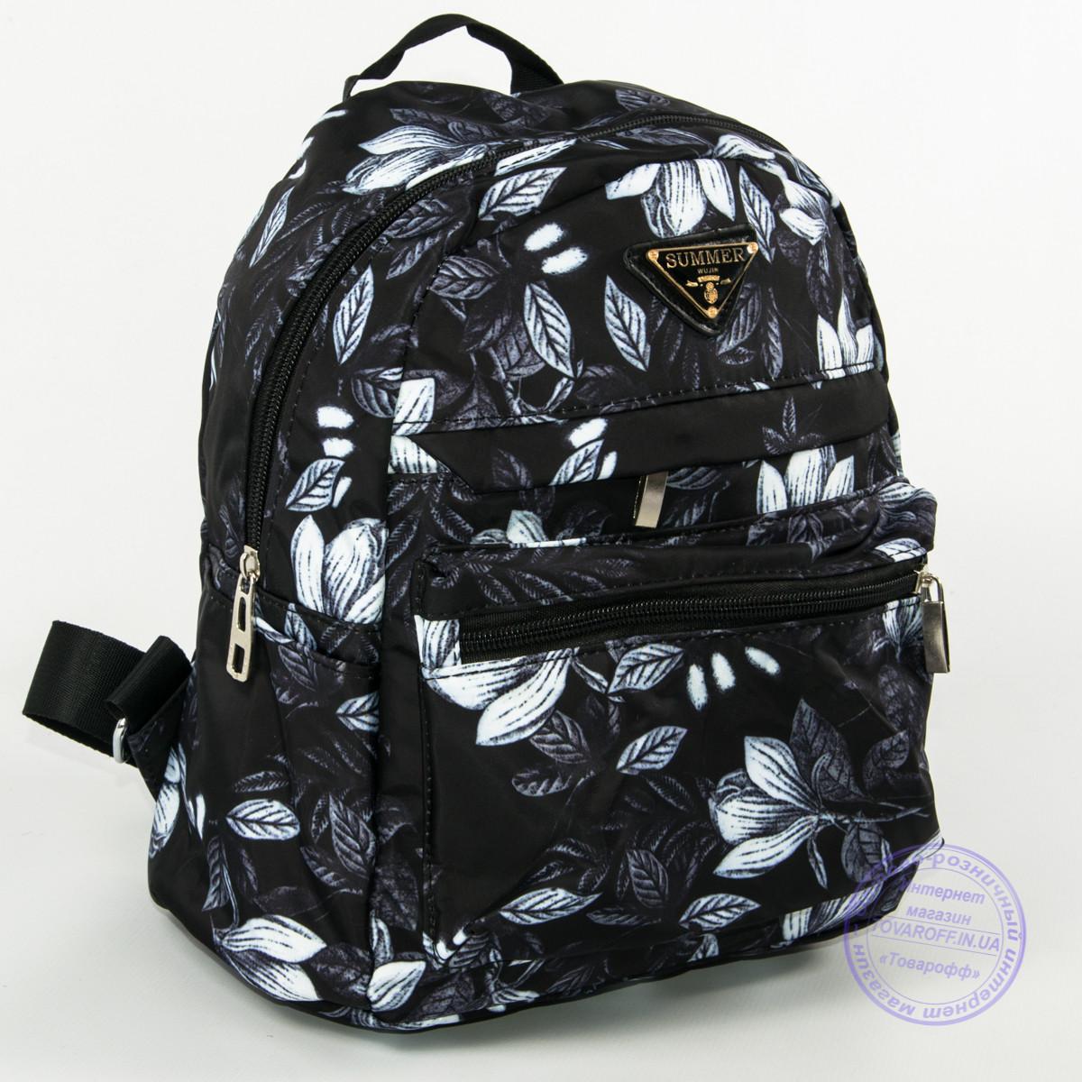 9c1d1ab6264 Красивый рюкзак небольшого формата с листьями - 114 - Интернет магазин  Товарофф в Хмельницком