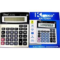 Калькулятор Kenko KK 1200, компактный калькулятор, настольный электронный калькулятор