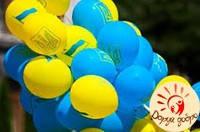 № 5 Шары c украинской символикой 30 см Днепр