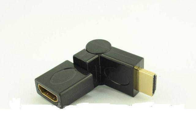Переходник HDMI M/F 360° -  интернет-магазин «sGen» в Днепре