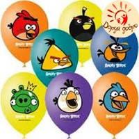 № 10 Шары с гелием 30см Angry Birds Днепр