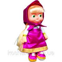 Мягкая игрушка МультиПульти МАША (новинка,пластизолевое лицо,Маша и Медведь,озвуч.,30см)