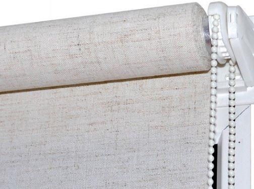 Рулонная штора Лён (430х1600)