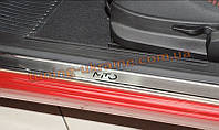 Накладки на пороги NataNiko Premium на Alfa Romeo Mito 2008