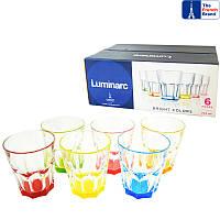 Набор стаканов Luminarc Bright Colors New America 270 мл 6 шт. низкие