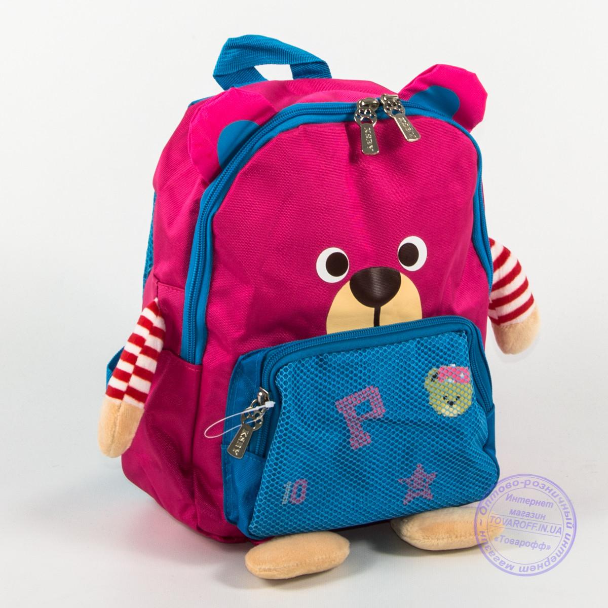 Детский рюкзак для девочки - розовый - 137