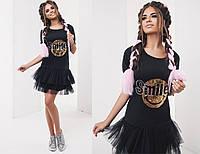 Женское платье (42,44,46) —дайвинг купить в розницу в одессе  7км