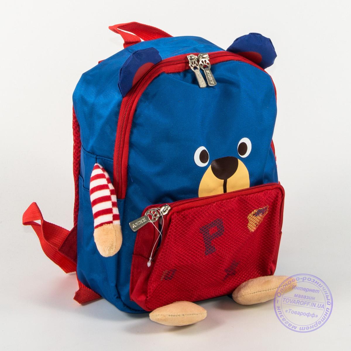 Детский рюкзак для девочки и мальчика - синий - 137