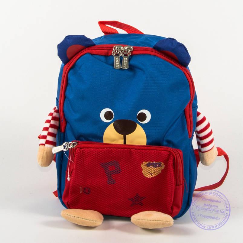 Детский рюкзак для девочки и мальчика - синий - 137, фото 2