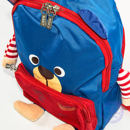 Детский рюкзак для девочки и мальчика - синий - 137, фото 3
