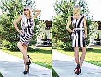 Стильное летнее платье из качественного материала Лен.