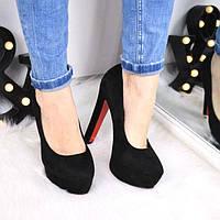 Туфли женские Madlin черные 3444, женская обувь