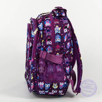 Школьный/прогулочный рюкзак для девочек с совами - сиреневый - 104, фото 3