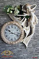 """Часы настенные """"Бабочка - красавица""""."""