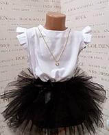 Школьная блузка туника для девочки