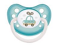 Пустышка силиконовая анатомическая Canpol Babies (0-6 мес) Toys Ночная 1 шт.