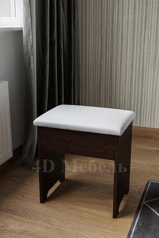 """Удобный, недорогой будуарный пуф Classic с мягким сидением, производитель мебельная фабрика """"UGO-mebel"""""""