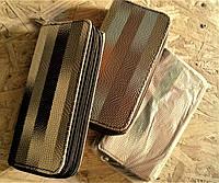 Кошелёк с двумя молниям, р-р 190мм*100мм*35мм., фото 1