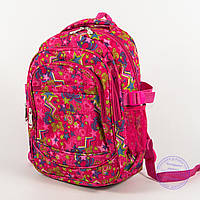 Школьный/прогулочный рюкзак для девочек со звездами - розовый - 103, фото 1