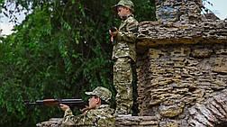 Детский военный костюм для мальчиков Киборг камуфляж MTP, фото 2