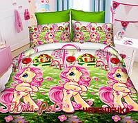 Полуторный набор постельного белья Ранфорс My Little Pony №18637 KRISPOL™