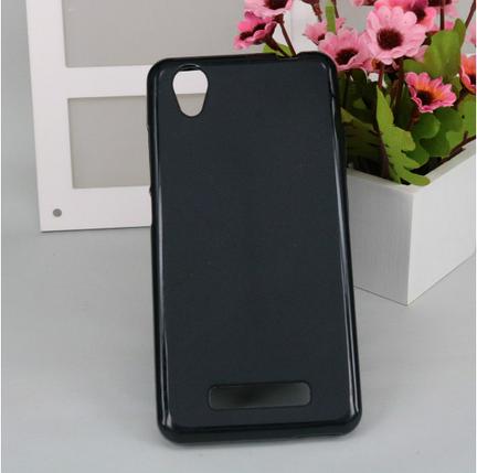 Силиконовый чехол для ZTE Blade A452 черный, фото 2