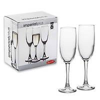 Набор бокалов для шампанского PASABAHCE Imperial 44819 6 шт
