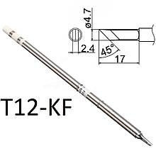 Жало для паяльника Т12 для паяльных станций T12-KF (топор)