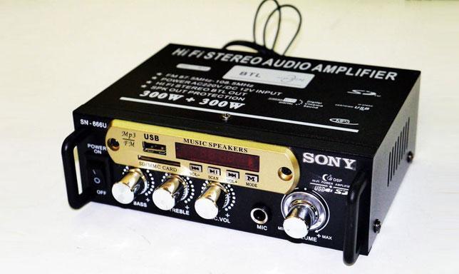 Усилитель Звука Sony SN-666U FM USB 2x300 Вт -  интернет-магазин «sGen» в Днепре