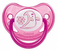 Пустышка силиконовая анатомическая Canpol Babies (6-18 мес) Night dreams 1 шт., фото 1