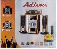 Акустическая система ALLIANG USB Fm DC 31A DT 6000W (gold) 3.1