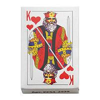 Колода 54 карт КОРОЛЬ С пластиковым покрытием