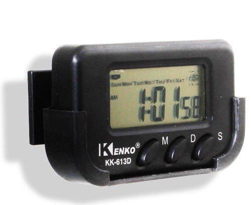 Часы автомобильные Kenko KK 613 D + секундомер, электронные универсальные часы -  интернет-магазин «sGen» в Днепре
