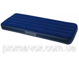 Одноместный надувной матрас Intex Classic Downy 76х191х22 см. 68950