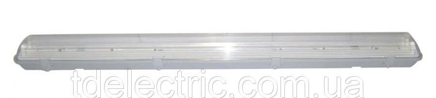 Светильник люминесцентный влагозащищённый IP 65 TL 2058 2*58W PS