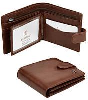 Мужской кожаный кошелек Bretton Натуральная кожа премиум качества, фото 1