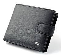 Мужской кожаный кошелек портмоне визитница SТ натуральная кожа, фото 1