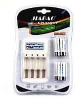 Зарядное устройство JB-Jiabao 212  + аккумуляторы (4 штуки)