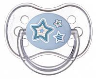 Пустышка силиконовая круглая Canpol Babies (0-6 мес) Newborn baby 1 шт., фото 1