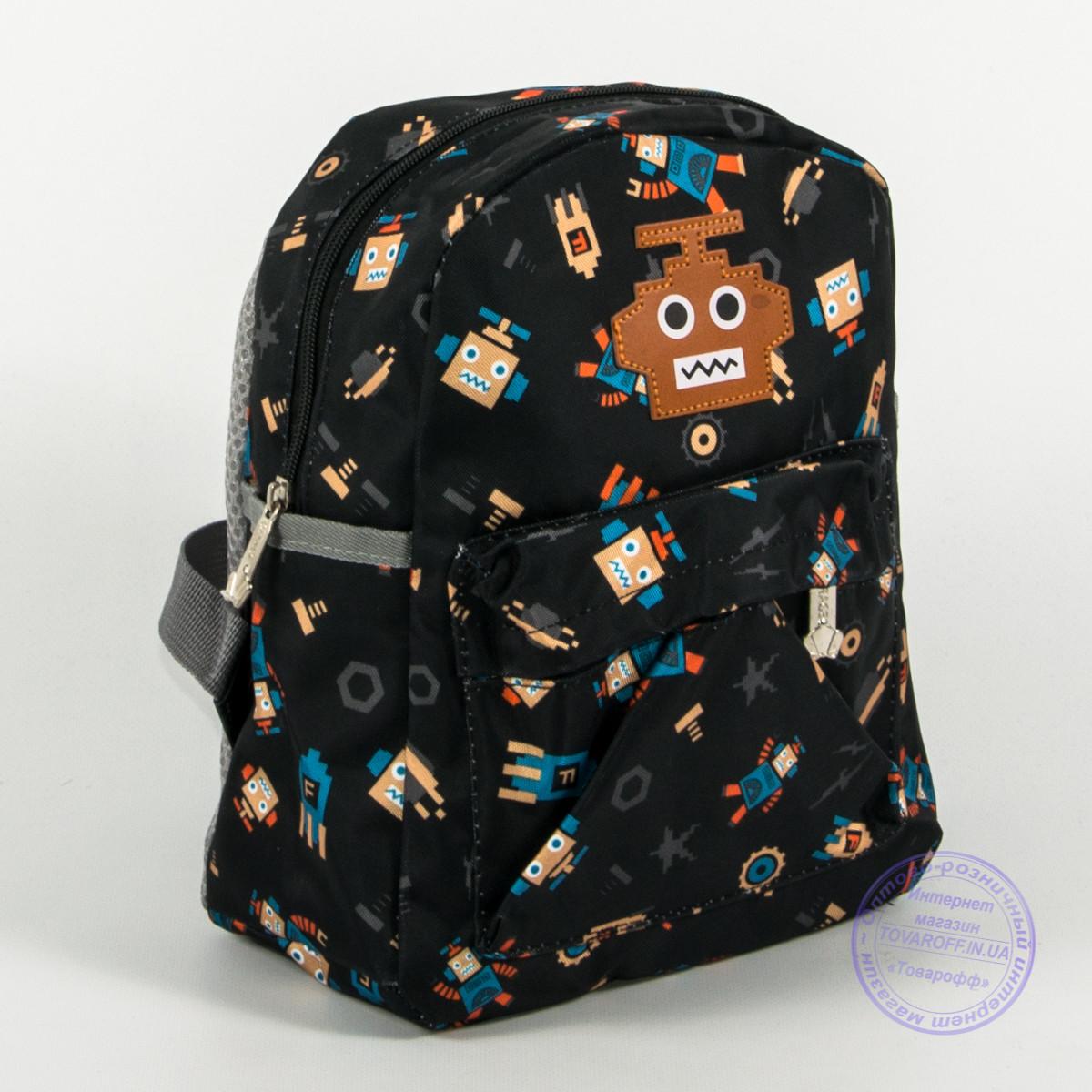 Детский рюкзак для мальчиков и девочек - черный - 135