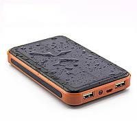 Внешний аккумулятор Power bank   Metal+LCD Solar 32000mah
