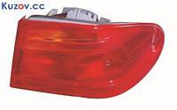 Фонарь задний для Mercedes Е-Class W210 '95-99 правый (DEPO) внешний, красный 2108204464