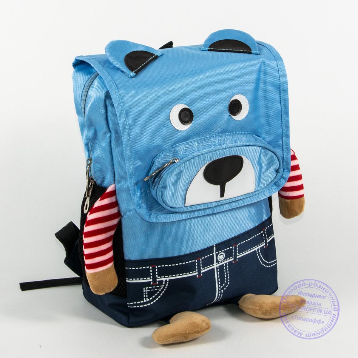 Детский рюкзак для мальчика и девочки - голубой - 138